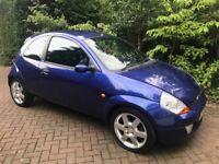 Racing car blue Ford KA Sport SE for Sale