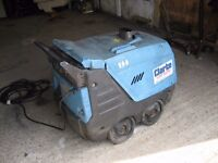 Mobile steam cleaner