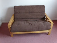 2 Seat wooden KYOTO Foton Sofa Bed