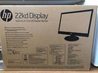 HP 22KD 21.5 inch Monitor