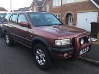 2001 Vauxhall frontera V6 MANUAL Limited , 12 months MOT