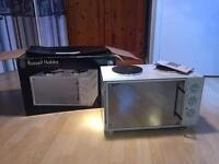 Russell Hobbs 26L Mini Kitchen, never used, minor rust on top hot plate.