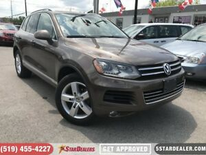 2012 Volkswagen Touareg 3.6L Execline | NAV | LEATHER | PANO ROO