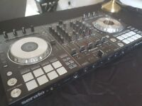 Pioneer DDJ SX 4 Deck Controller. Official Pioneer Case. Laptop Stand