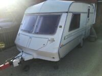 2 berth Ace caravan