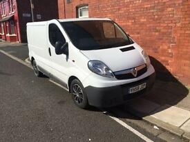 2009 58reg Vauxhall Vivaro 2.0cdti Fridge Van Very Clean And Tidy