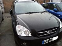 7 seater AUTOMATIC 1.9 DIESEL KIA CARENS WITH LOW MILES -MPV