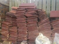 Free Roof tiles red marley