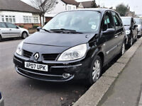 71800 Miles AUTO-- 2007 Renault Scenic 1.6 Automatic -- VVT Dynamique -- New MOT -- Part Exchange OK