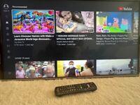 Panasonic 40inch led smart tv