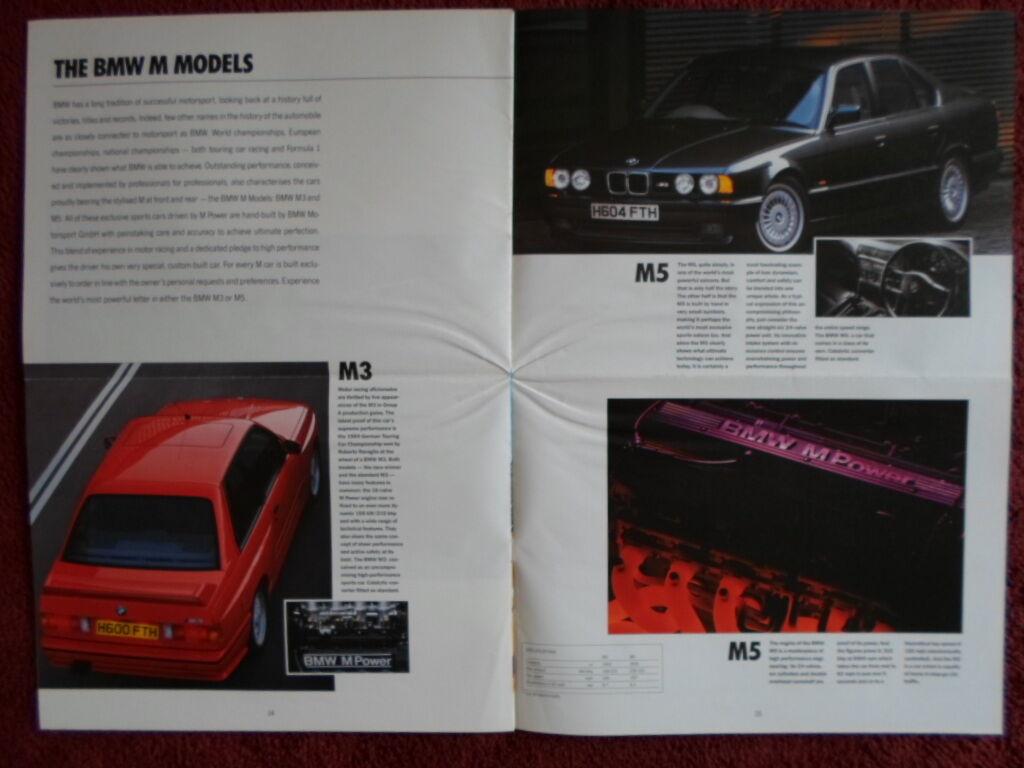 Bmw M3 Brochure Ebay Upcomingcarshq Com