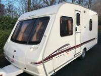 4 berth fixed bed 2005 Swift Chrisma 535. Motor mover and extras