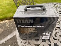 Titan Diamond Core Drill Set