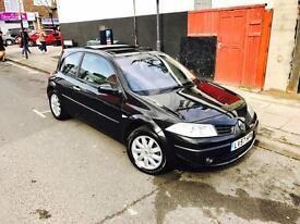 2007 /57 RENAULT MEGANE DYNAMIQUE 1.6L SUNROOF/ PANORAMIC ROOF (Not astra golf fiesta vectra civic)