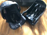 Excellent Graco car seat and base