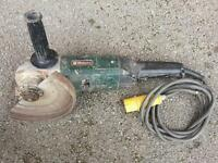Metabo grinder saw in used condition! But still working! good for building site!Can deliver or post