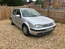 VOLKSWAGEN GOLF 1.6 VW GOLF LONG MOT - LIKE VW POLO Vauxhall CORSA VAUXHALL ASTRA HONDA JAZZ