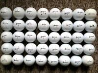 40 Srixon golf balls in very good condition
