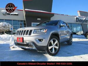 2015 Jeep Grand Cherokee LIMITED 4WD W/GPS NAVIGATION & SUNROOF