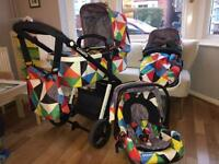 Cosatto Giggle Pablo 3 in 1 Travel System