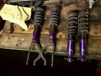 Honda Eg Dc2/Eg/ek coilovers D2 RACING