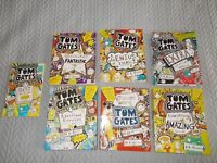 Tom Gates books. Seven books including World Book Day book from 2013.