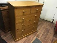 Solid pine draws (free delivery)