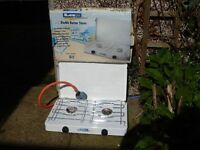 La Playa Traveller 2 double burner gas stove