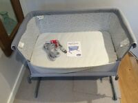 Chicco Next2Me Crib Circles WITH EXTRA mattress included - hardly used