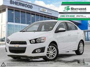 2014 Chevrolet Sonic LT One Owner Local PST PAID Trade!!