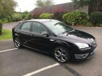 Ford Focus ST-3 2.5 Turbo 5 Door Hatch 2006 black fsh * Finance Available * Vxr S3 Rs3 GTD Gti R32
