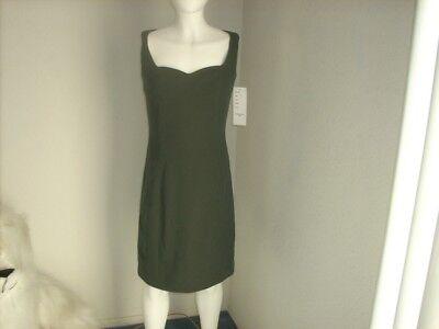 Top Hat sleeveless dark green dress size 0