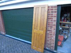 Solid Pine 4 panel Door