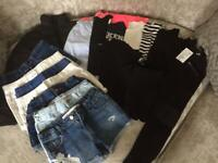 £25 Girls Clothes Bundle Age 6-8 Years 18 Items