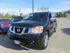2013 Nissan Armada Platinum Edition - Heated Seats, Sun Roo