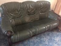 ** Sofa and arm chair - free to good home **