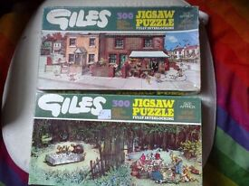 'Giles' jigsaw puzzles