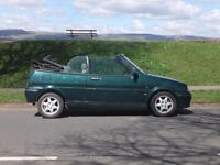 Rover Metro 114 Cabriolet for sale - spares or repair