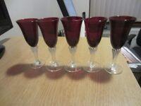 Red Glasses (Small Decorative)
