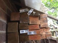 CLEARANCE - BRAND NEW UNTREATED & TREATED SAWN TIMBER - FULLY DRIED & SEASONED for several years