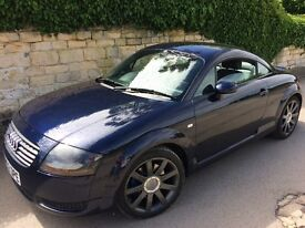 Lovely little Audi TT 1.8 turbo charged Quattro.just serviced,new mot