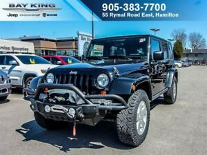 2010 Jeep WRANGLER UNLIMITED SAHARA, FOUR WHEEL DRIVE, HARD TOP,