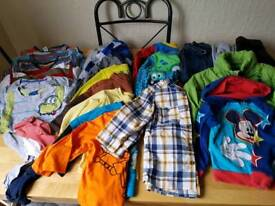 Boy's clothes and shoes