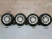"""19"""" range rover vogue alloy wheels brand new tyres and nuts, land rover, vw transporter t5"""
