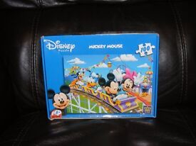 2 complete boxes of Mickey Mouse etc jigsaws