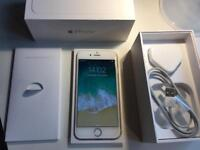 IPhone 6 - 128gb - unlocked - boxed - gold / white