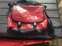 North Face Messenger bag, red