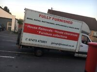 •HOUSE REMOVALS • HOUSE CLEARANCES •WASTE CLEARANCE