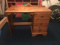 Ducal solid pine dressing table