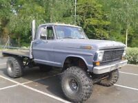 1968 Ford F100 Monster truck, Rat Rod. on going project